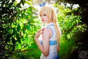 Lucy Heartfilia - Shine by Flaming-Goddess