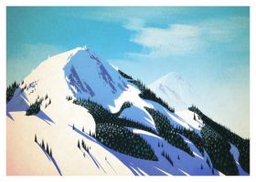 Holiday mountains by ECALA