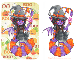 Trick or Treat Tarient by nekophoenix