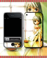 Iphone skin - watermelon by marielsunny88