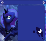 Princess Luna Journal Skin by C4TT