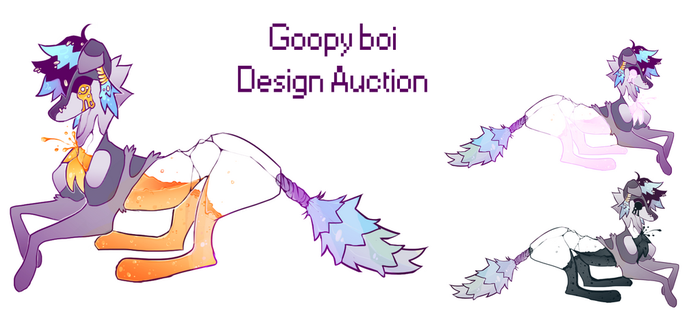 Design Auction by lambjokes