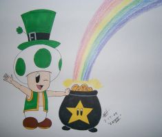 St. Pat-Toad by EbonNekoXIII