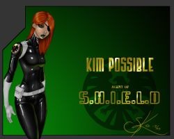 Kim Possible Agent of SHIELD by LexiKimble
