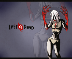 L4D- Don't piss off the Witch by ShiroiAngelz