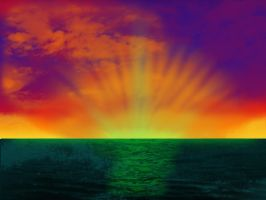 Ever Gazed Upon the Green Flash? by VIIIFireLordAxel