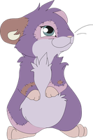 Patchwork Hamster by MBPanther