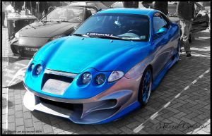 2000 Hyundai Coupe by compaan-art
