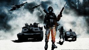 BF3 Marines BC2 style wallpaper by Keno999
