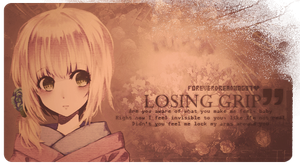 Losing grip by ForeverDream97