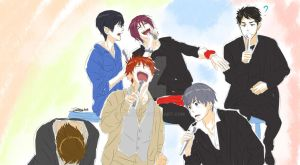 Free! Eternal Dorkness... by Yohao88