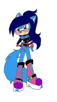 sonic riders punky by queenmafdet