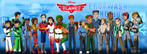 Planes Cast Revisited by Aileen-Rose