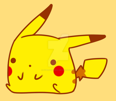 :RESUBMIT: Pika Pika Durr by hyperfluffball