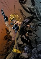 All Star Batman and Canary by SalLee