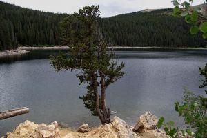 serial-lake in the mountains of Colorado 2 by sonafoitova