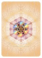 Seed of Life - Poker Cards Back Design by Lilyas