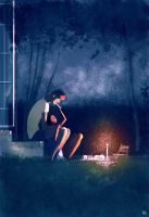 Breakfast at two. by PascalCampion
