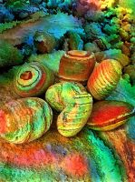 Colored stones by rafi talby by RT3D