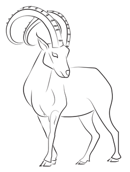 Ibex Lines by Astralseed