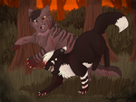 Smokepaw and Nightpaw by CascadingSerenity