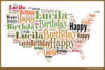 Happy birthday Lucila by hiaamir