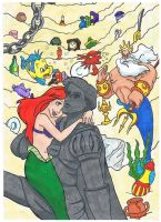 The Little Mermaid 1 by Volky