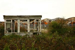 Abandoned Bus Stop2 by NickiStock