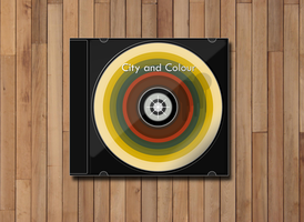 City and Colour CD design by MadamSteamfunk