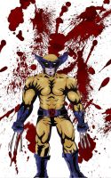 Bloody Wolverine by RoxiaMagicGirl