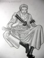 Next Roronoa Zoro by kuba567g
