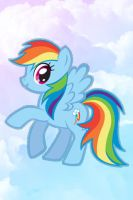Rainbow Dash iPhone Wallpaper by Serendipity37