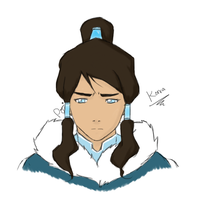Concerned Korra by PaYnE-hAs-No-EnD