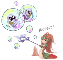 Bubbles! by Miamelly