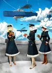 [Project Air Fleet] Tea time after duty by frankpatriot