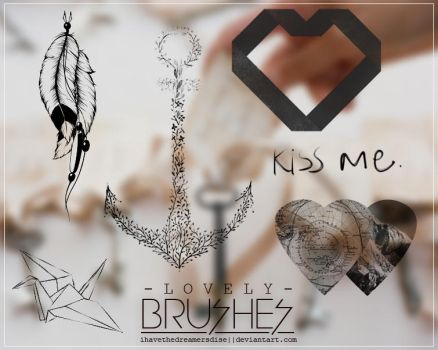 Brushes -  Lovely by coral-m