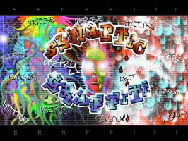 Synaptic Graffiti Collective by scart