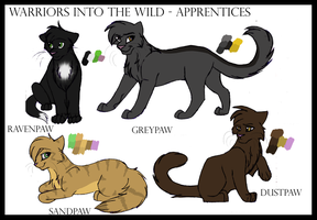 Into The Wild - Apprentices by Spottedfire94