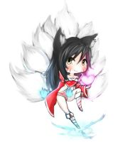 Ahri Chibi by Rush--it