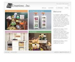 Beauty Products Company Site by gemalynn