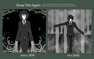 Draw This Again Challenge -Slender Plushie- by UnseenChaser