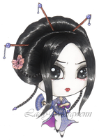 ::Gwenn ~geisha mood~:: by Lady-Morgwenn