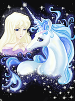 The Last Unicorn by goodgirl-arcee