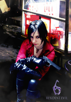 Ada Wong RE6 by ladykobra