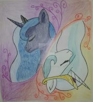 The Royal Sisters, Moonrise by MesophaneGryyn