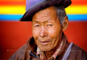 A Ladakhi Man by poraschaudhary