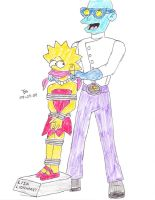 LISA SIMPSON TO THE RESCUE 2A by Godzilla713
