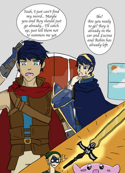 Why Ike is Late by SnowGoldCastle