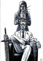Dr. Morrow and Penny by Tristan-Despero
