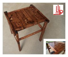 Spruce End Table by Obsidian-Asphodel